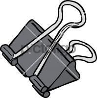Binder ClipFreehand Image