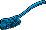 Carpet Cleaning Brush freehand drawings