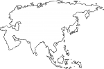 World Map freehand drawings
