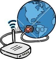 Internet ConnectionFreehand Image