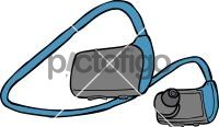 HeadphonesFreehand Image