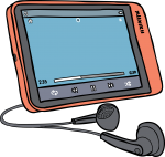 MP3Media Players freehand drawings