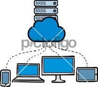 Cloud ServerFreehand Image