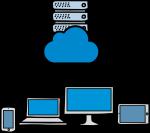 Cloud Server freehand drawings