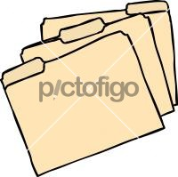 Manila Board FilesFreehand Image