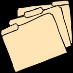 Manila Board Files freehand drawings