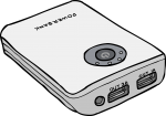 Power Banks freehand drawings