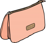 Pouches freehand drawings