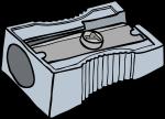 Sharpeners freehand drawings