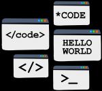 Code freehand drawings