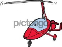 gyrocopterFreehand Image