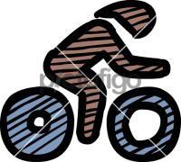 Time Trial BikingFreehand Image