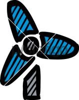 Wind TurbineFreehand Image