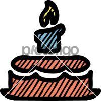 Birthday CakeFreehand Image