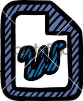 MS WordFreehand Image