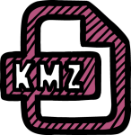 KMZ freehand drawings