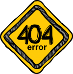 Error 404 freehand drawings