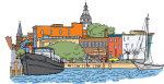 Annapolis freehand drawings