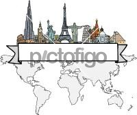 World TravelFreehand Image